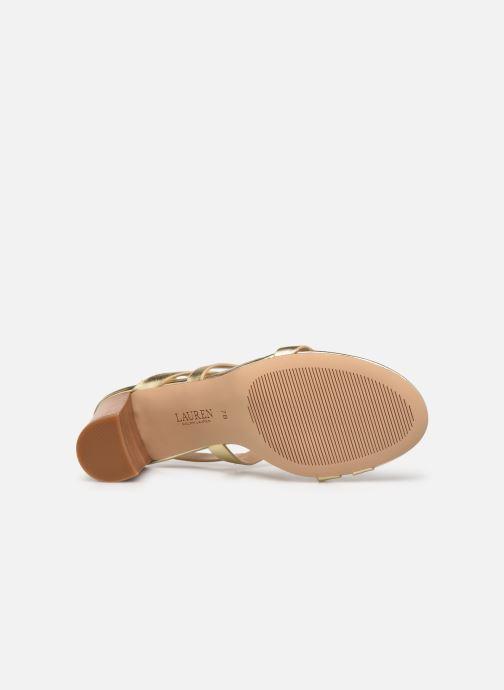 Sandali e scarpe aperte Lauren Ralph Lauren MACKENSIE-SANDALS-CASUAL Oro e bronzo immagine dall'alto