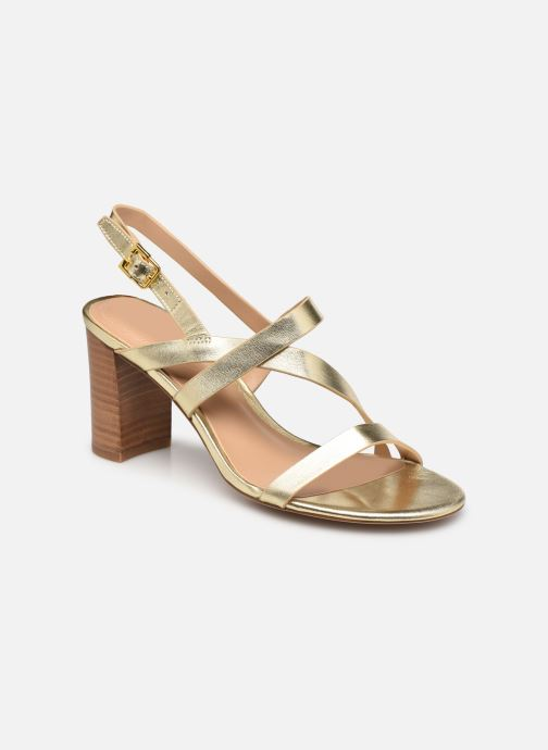 Sandali e scarpe aperte Lauren Ralph Lauren MACKENSIE-SANDALS-CASUAL Oro e bronzo vedi dettaglio/paio