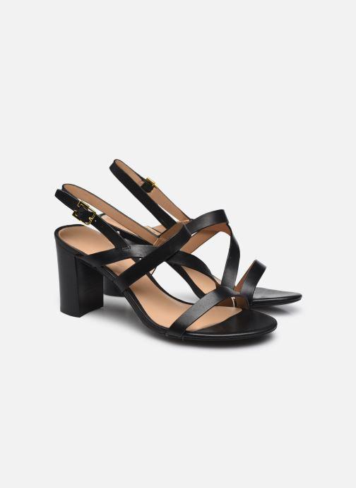 Sandali e scarpe aperte Lauren Ralph Lauren MACKENSIE-SANDALS-CASUAL Nero immagine 3/4