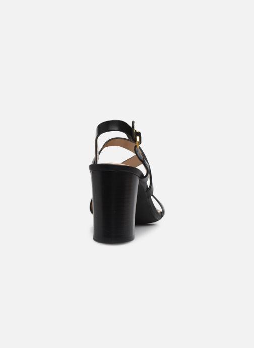 Sandali e scarpe aperte Lauren Ralph Lauren MACKENSIE-SANDALS-CASUAL Nero immagine destra