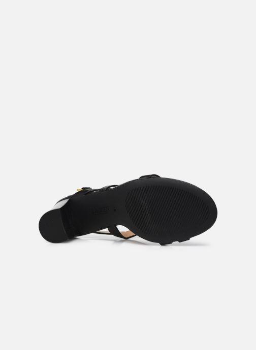Sandali e scarpe aperte Lauren Ralph Lauren MACKENSIE-SANDALS-CASUAL Nero immagine dall'alto