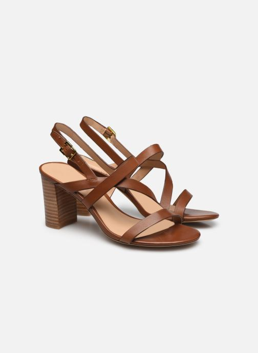 Sandali e scarpe aperte Lauren Ralph Lauren MACKENSIE-SANDALS-CASUAL Marrone immagine 3/4