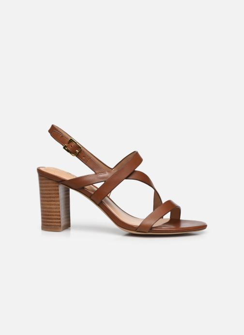 Sandali e scarpe aperte Lauren Ralph Lauren MACKENSIE-SANDALS-CASUAL Marrone immagine posteriore
