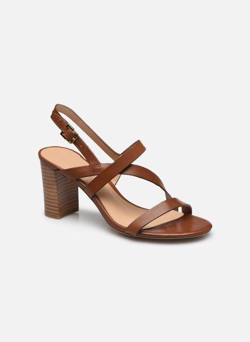 Sandali e scarpe aperte Lauren Ralph Lauren MACKENSIE-SANDALS-CASUAL Marrone vedi dettaglio/paio