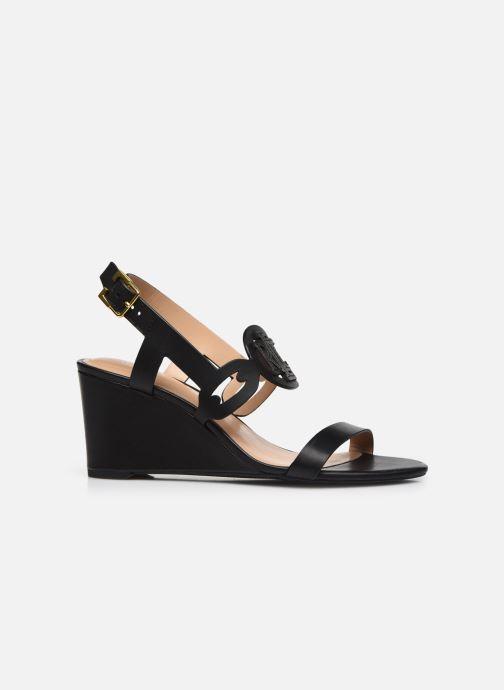 Sandali e scarpe aperte Lauren Ralph Lauren AMILEA-SANDALS-CASUAL WEDGE Nero immagine posteriore