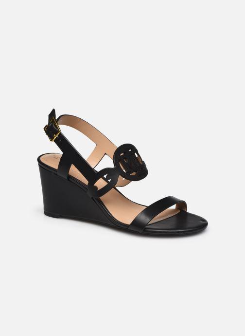 Sandali e scarpe aperte Lauren Ralph Lauren AMILEA-SANDALS-CASUAL WEDGE Nero vedi dettaglio/paio