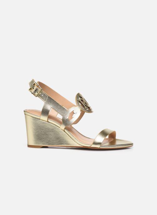 Sandali e scarpe aperte Lauren Ralph Lauren AMILEA-SANDALS-CASUAL WEDGE Oro e bronzo immagine posteriore