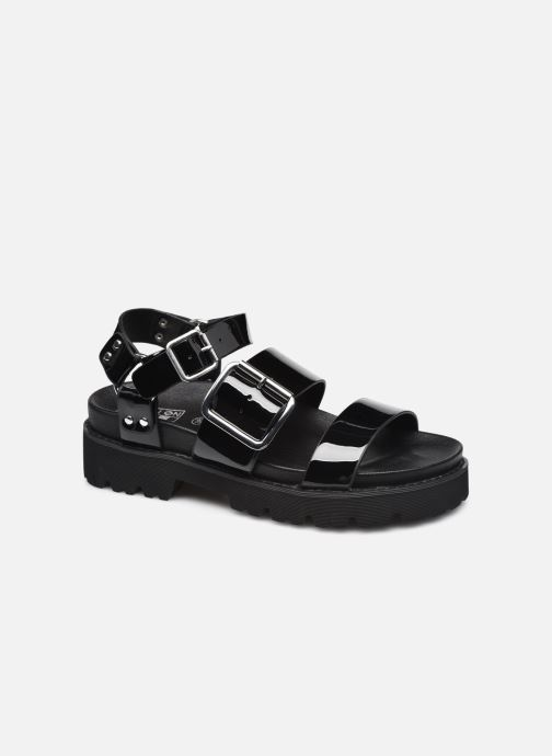 Sandalen No Name June Ankle Patent schwarz detaillierte ansicht/modell