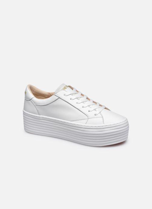 Baskets No Name Spice Sneaker Lambskin Blanc vue détail/paire