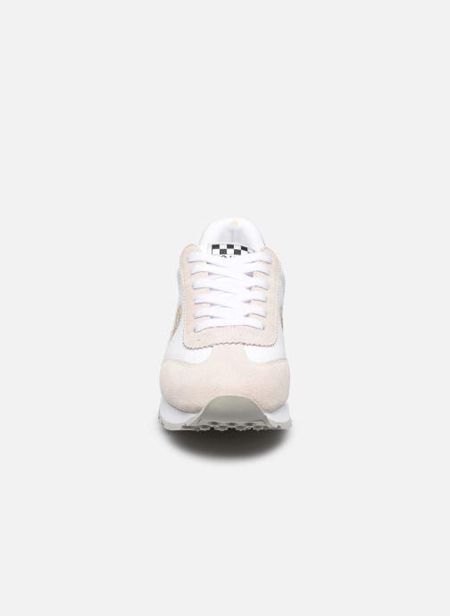 Baskets No Name City Run Jogger Suede/Breaker Blanc vue portées chaussures