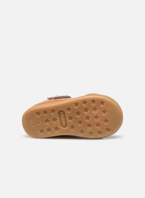 Bottines et boots Babybotte Figo Marron vue haut