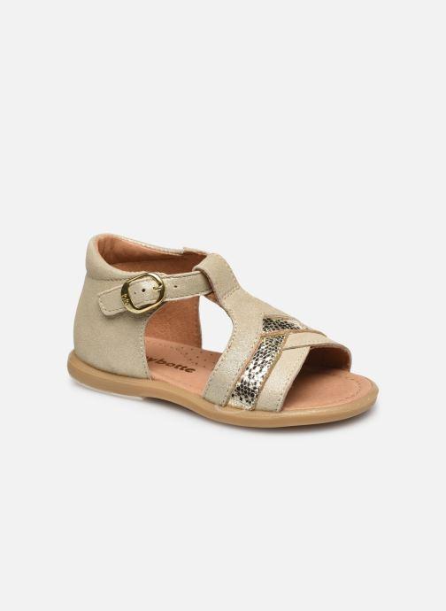 Sandales et nu-pieds Babybotte Tina Blanc vue détail/paire