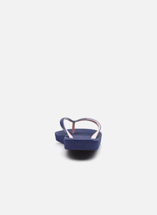 Zehensandalen Isotoner Tong Everywear unie W blau ansicht von rechts