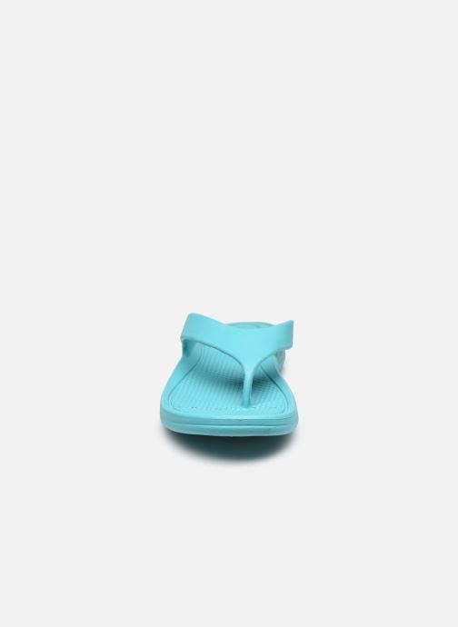 Zehensandalen Isotoner Tong Everywear Femme blau schuhe getragen