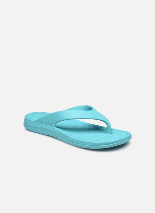 Slippers Isotoner Tong Everywear Femme Blauw detail