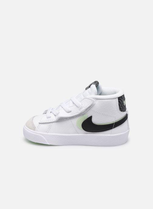 Sneaker Nike Blazer Mid '77 Se (Td) weiß ansicht von vorne