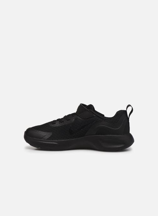 Sneaker Nike Nike Wearallday (Ps) schwarz ansicht von vorne