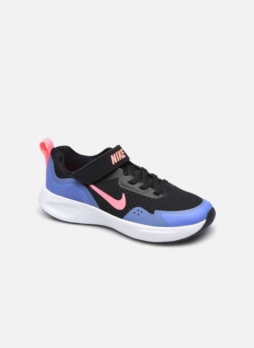 Deportivas Nike Nike Wearallday (Ps) Negro vista de detalle / par