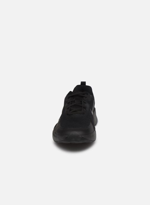 Sneaker Nike Nike Wearallday (Gs) schwarz schuhe getragen