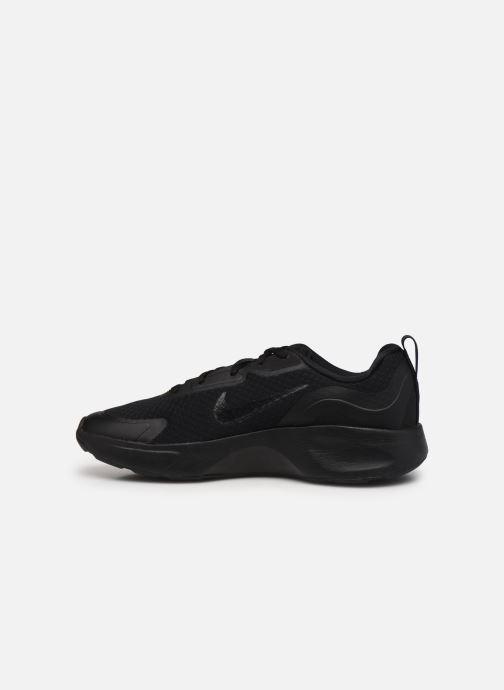 Sneaker Nike Nike Wearallday (Gs) schwarz ansicht von vorne