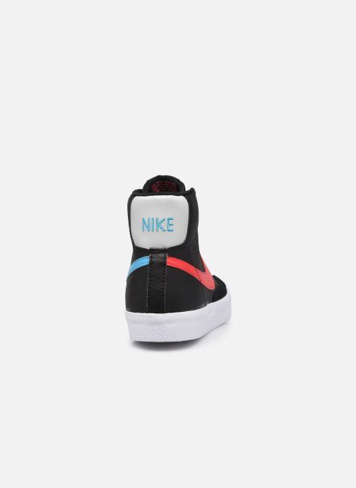Sneaker Nike Nike Blazer Mid '77 Leather Gs schwarz ansicht von rechts