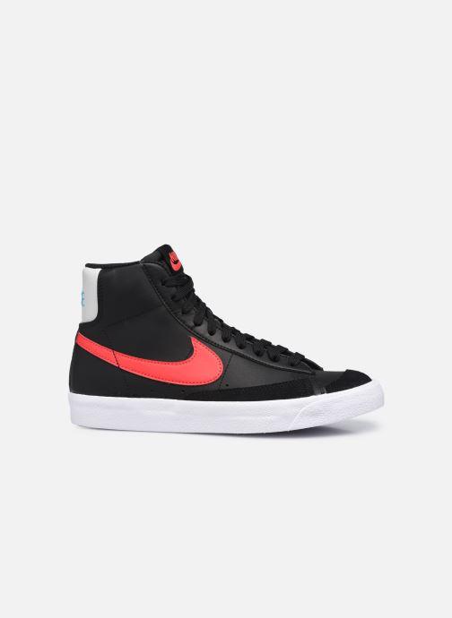 Sneaker Nike Nike Blazer Mid '77 Leather Gs schwarz ansicht von hinten