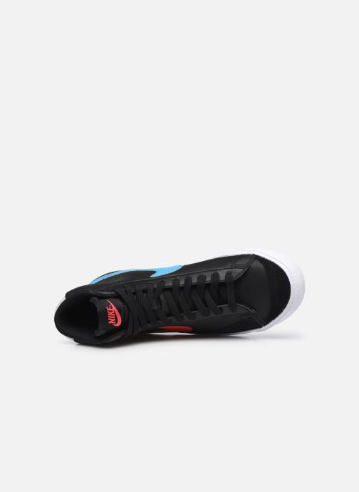 Sneaker Nike Nike Blazer Mid '77 Leather Gs schwarz ansicht von links