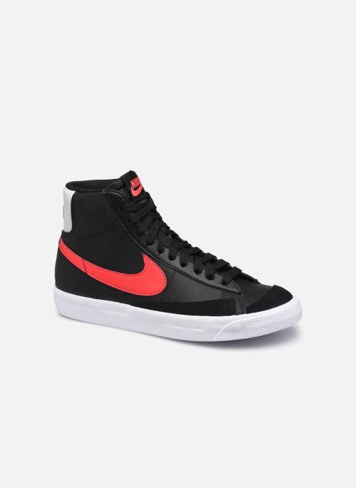 Sneaker Nike Nike Blazer Mid '77 Leather Gs schwarz detaillierte ansicht/modell