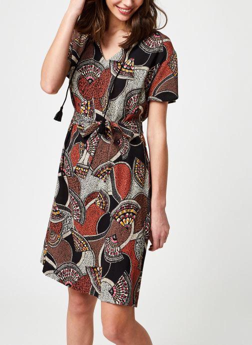 Vêtements La Fée Maraboutée Fa-Ro-Lemia Marron vue détail/paire