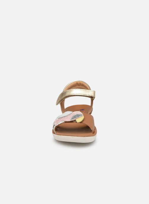 Sandales et nu-pieds Shoo Pom Goa Toucan Multicolore vue portées chaussures