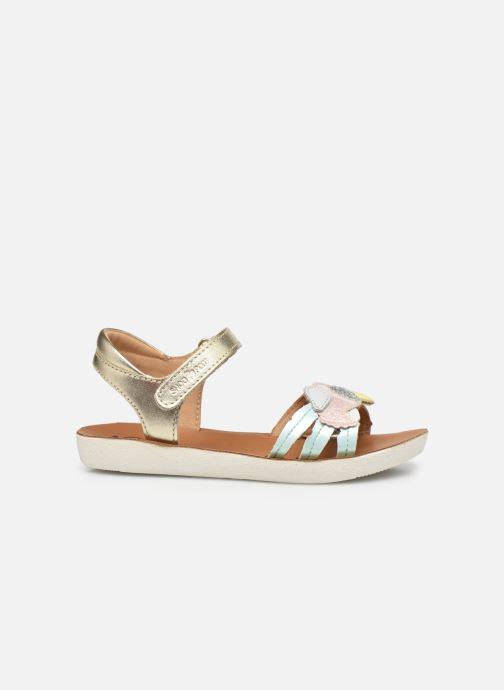 Sandales et nu-pieds Shoo Pom Goa Toucan Multicolore vue derrière