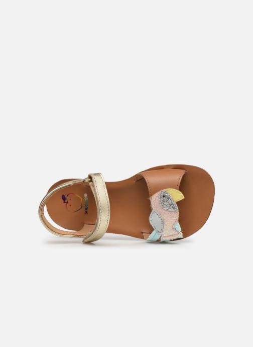 Sandales et nu-pieds Shoo Pom Goa Toucan Multicolore vue gauche