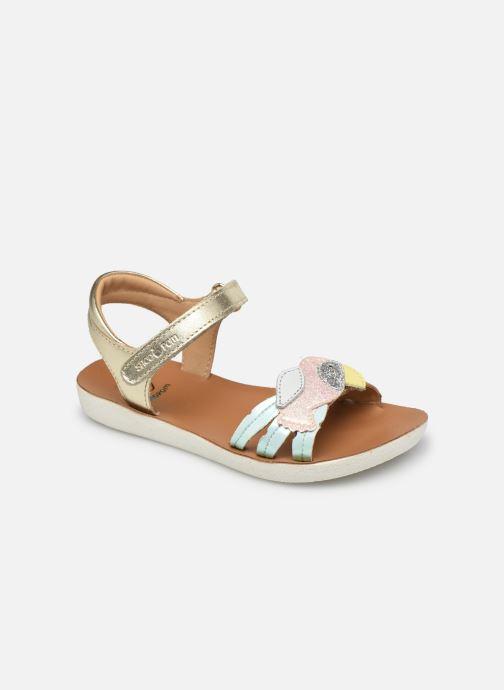 Sandales et nu-pieds Shoo Pom Goa Toucan Multicolore vue détail/paire