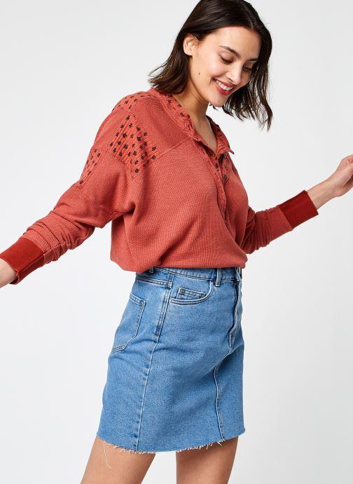 Vêtements Free People HEART TO HEART HENLEY Orange vue détail/paire