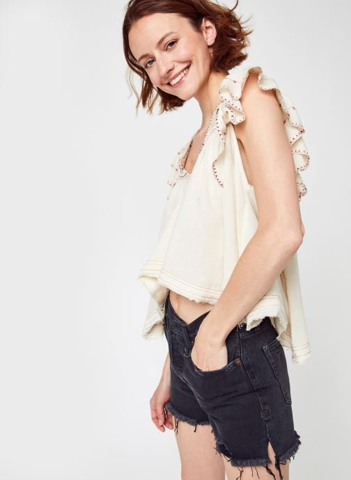 Vêtements Accessoires HAILEY EMBROIDERED TOP