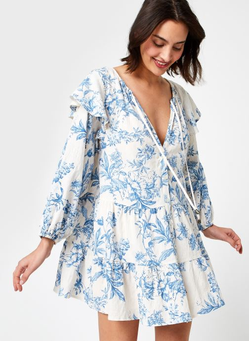 Kleding Free People SUNBAKED SWING DRESS Blauw detail