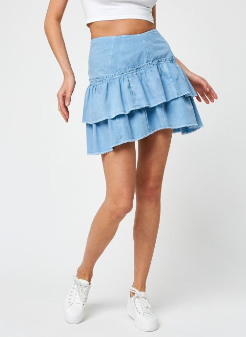 Kleding Free People RUFFLES IN THE SAND Blauw detail