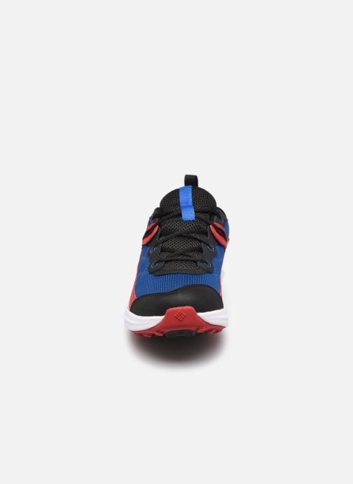 Sneaker Columbia Youth Trailstorm blau schuhe getragen