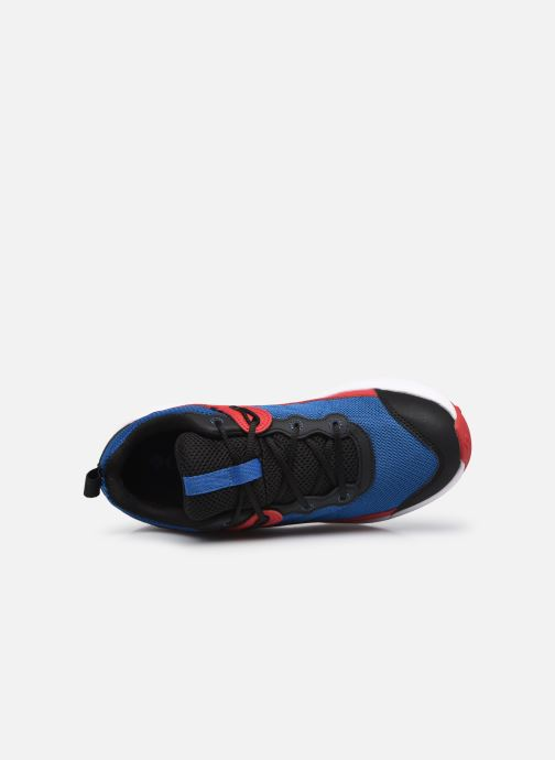 Sneaker Columbia Youth Trailstorm blau ansicht von links