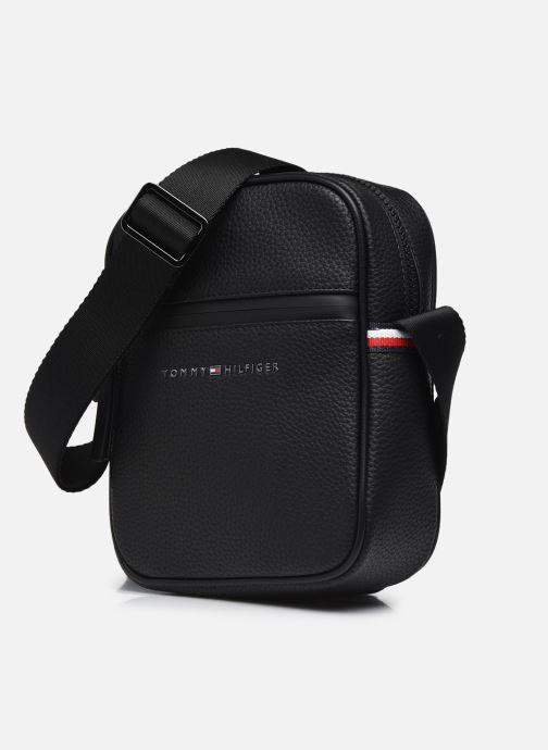Herrentaschen Tommy Hilfiger ESSENTIAL PU MINI REPORTER schwarz schuhe getragen