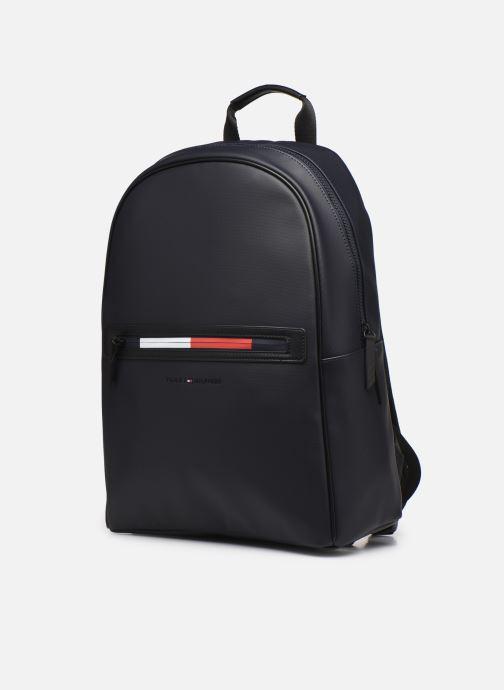 Laptoptaschen Tommy Hilfiger ESSENTIAL PQ BACKPACK blau schuhe getragen