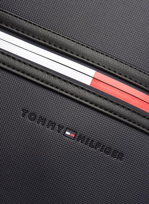 Laptoptaschen Tommy Hilfiger ESSENTIAL PQ BACKPACK blau ansicht von links
