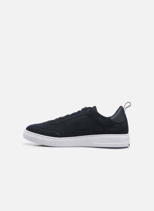 Sneakers Tommy Hilfiger MODERN CUPSOLE PERF SUEDE Azzurro immagine frontale