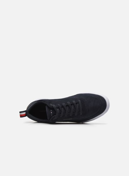 Sneakers Tommy Hilfiger MODERN CUPSOLE PERF SUEDE Azzurro immagine sinistra