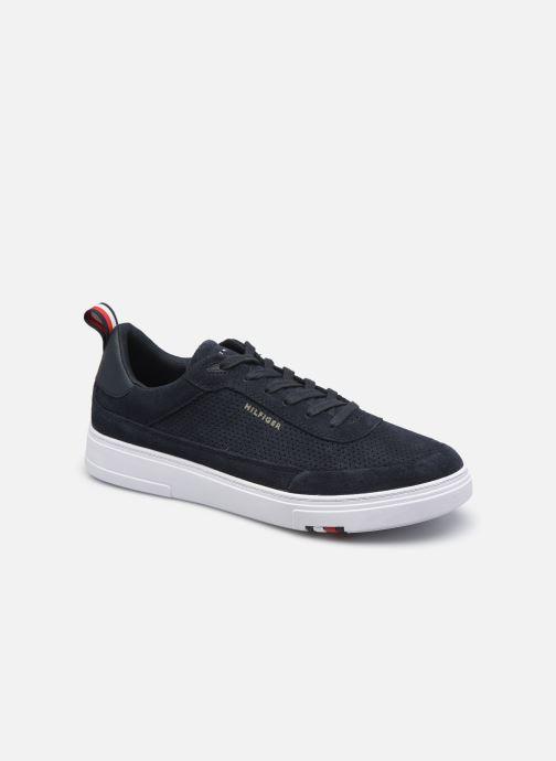 Sneakers Tommy Hilfiger MODERN CUPSOLE PERF SUEDE Azzurro vedi dettaglio/paio