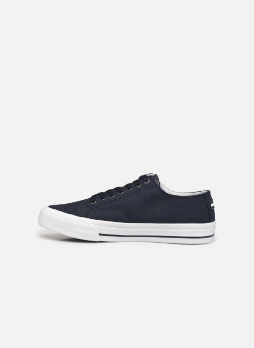 Sneakers Tommy Hilfiger LONG LACE UP VULC Azzurro immagine frontale