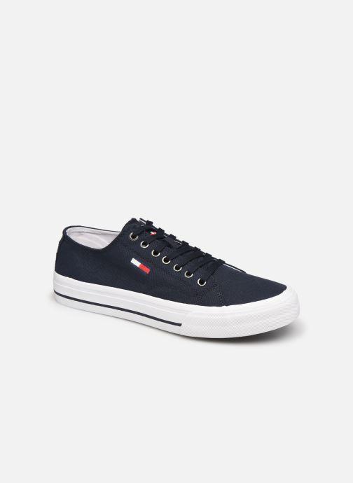 Sneakers Tommy Hilfiger LONG LACE UP VULC Azzurro vedi dettaglio/paio