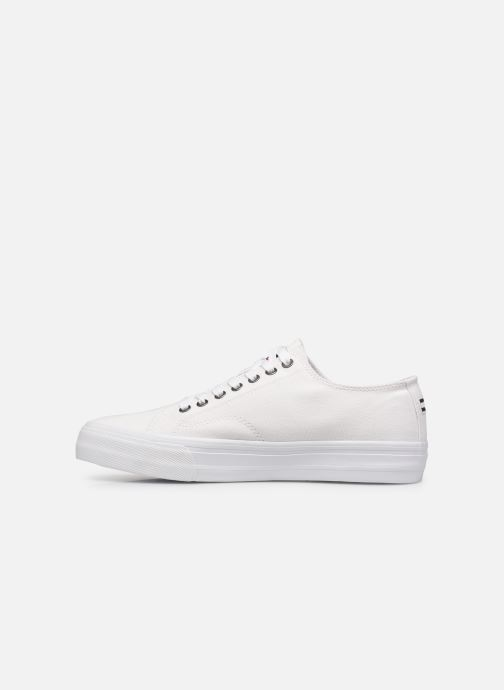 Sneakers Tommy Hilfiger LONG LACE UP VULC Bianco immagine frontale