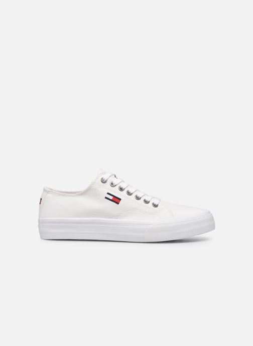 Sneakers Tommy Hilfiger LONG LACE UP VULC Bianco immagine posteriore