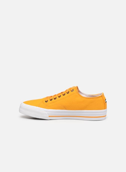 Sneakers Tommy Hilfiger LONG LACE UP VULC Giallo immagine frontale
